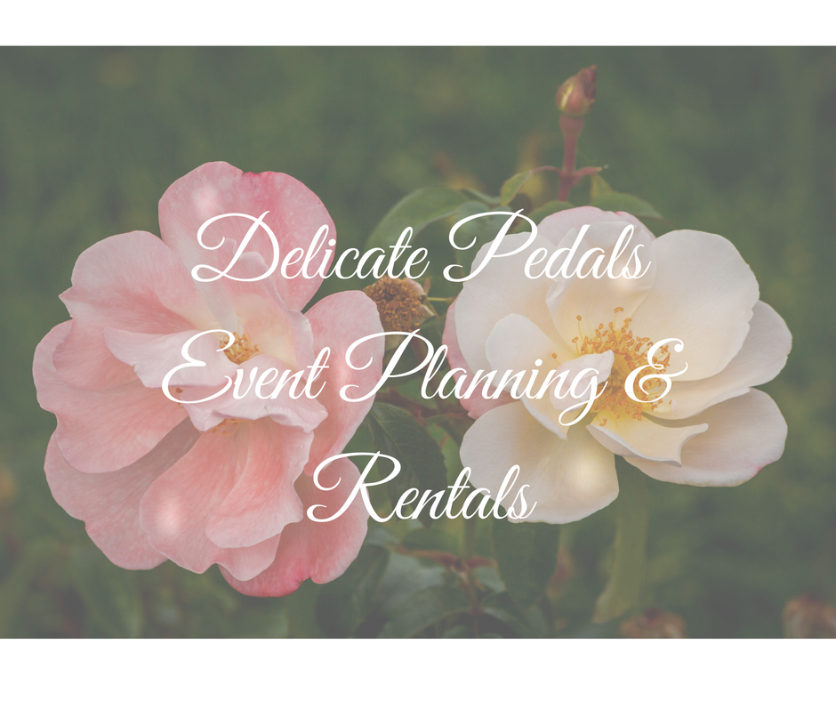 Delicate Pedals Event Planning & Rentals, local business, downtown prince albert